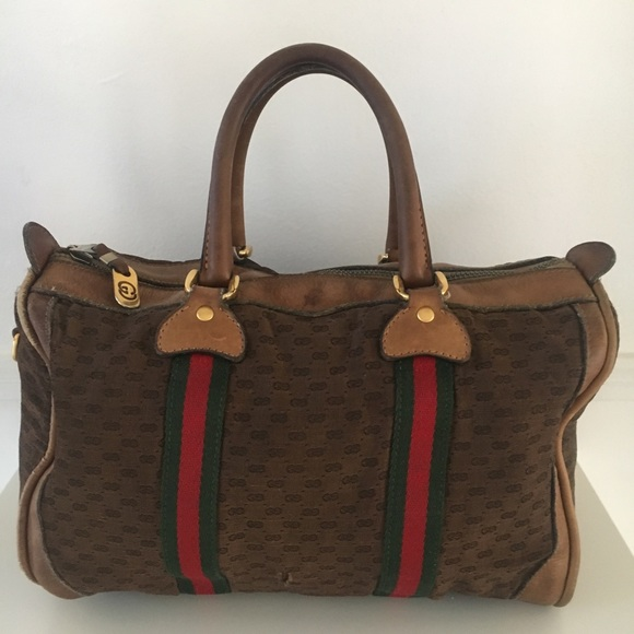 ce9353243e22 Gucci Bags | Auth Vintage Boston Speedy Supreme Bag | Poshmark